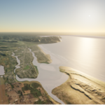 Seaside Tsunami Simulation
